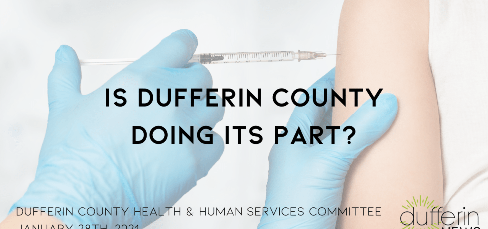Dufferin County Rejects WDGPH's Request for Assistance