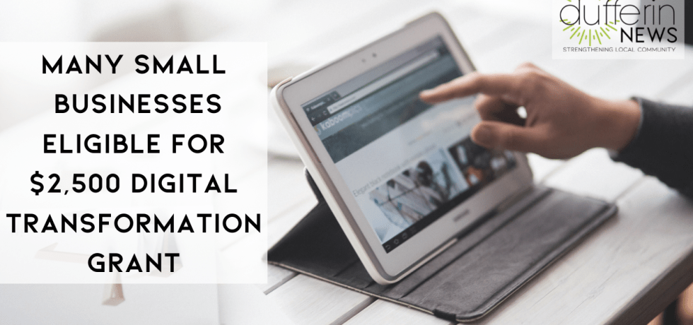 Many Small Businesses Eligible for $2500 Digital Transformation Grant