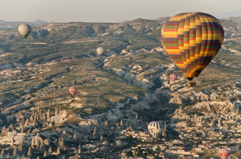 Hot air ballooning, Cappadocia, Turkey-3