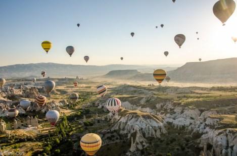 Hot air ballooning, Cappadocia, Turkey-6