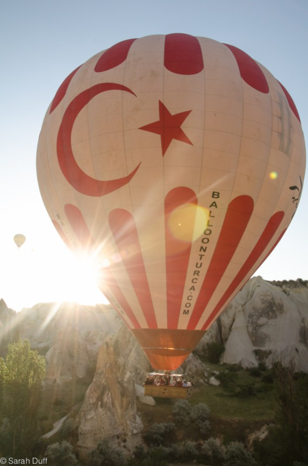 Hot air ballooning, Cappadocia, Turkey-8