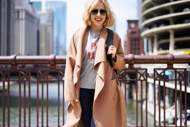 Graphic Tees And H&T — Alex Duffy of Duffy Dossier, microblogger, chicago blogger, fashion blogger, womens clothes