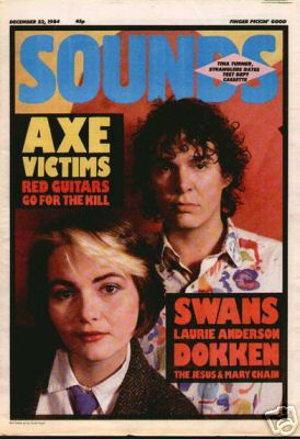 Lou & Hal on the cover of Sounds - My Fantastic Past
