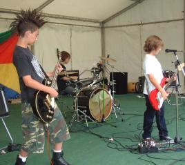 Jake, Asa and Sam at Grassroots