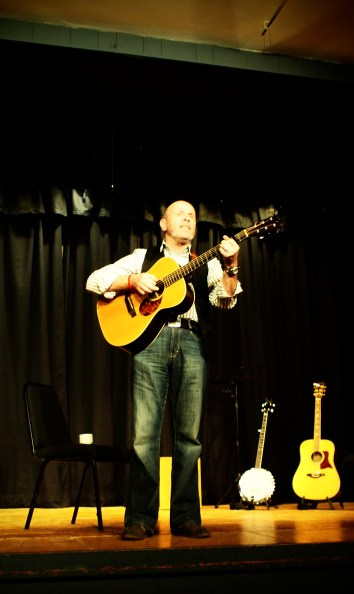 Terrific to see Phil back, all the way from York. What a fantastic songwriter and entertainer