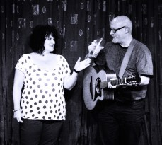 Peculiar Blue – Over from West Yorkshire it was great to welcome Lyn & Paul, fresh from gigging in France, who were in great voice with a classy set of original songs, full of light and shade.