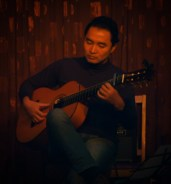 Here's Michael Nagasaka taking us on a trip across America and settling in Gibraltar with a flamenco dance tune.