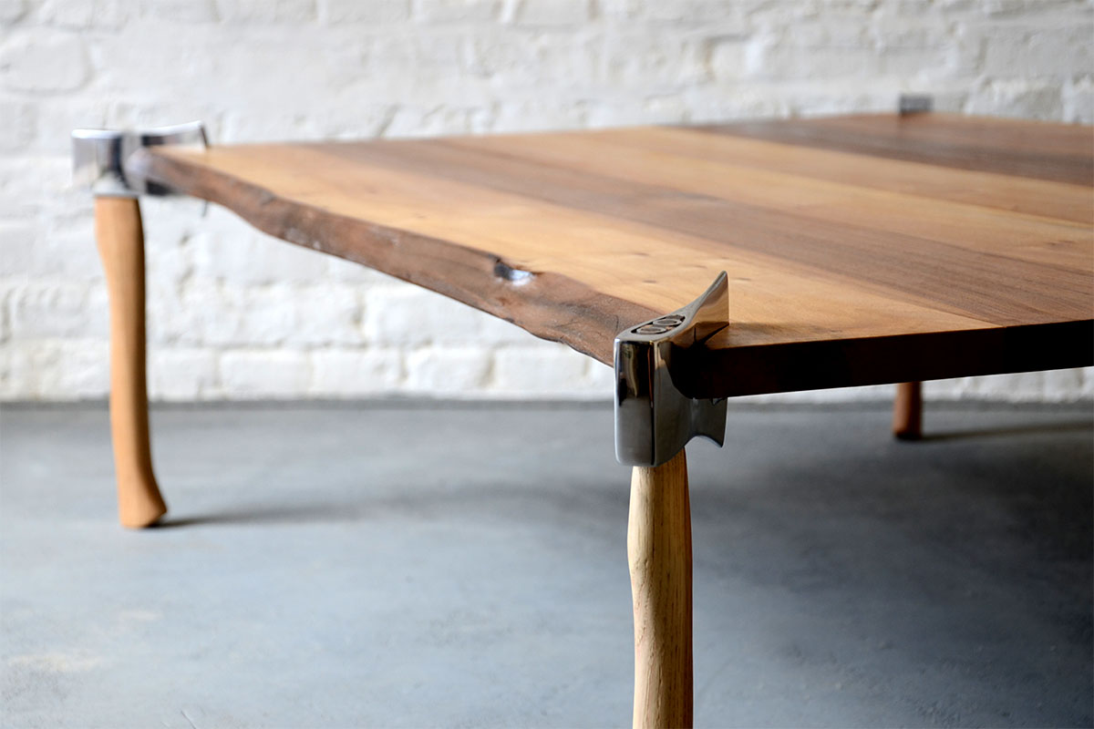 Woodsman Axe Table