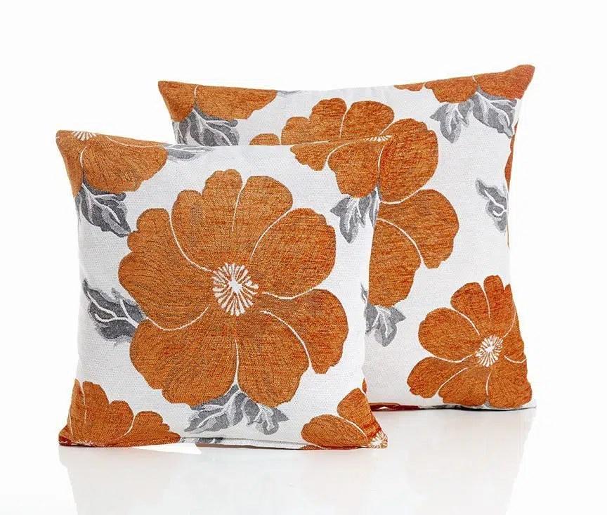 poppy orange cushion covers ireland