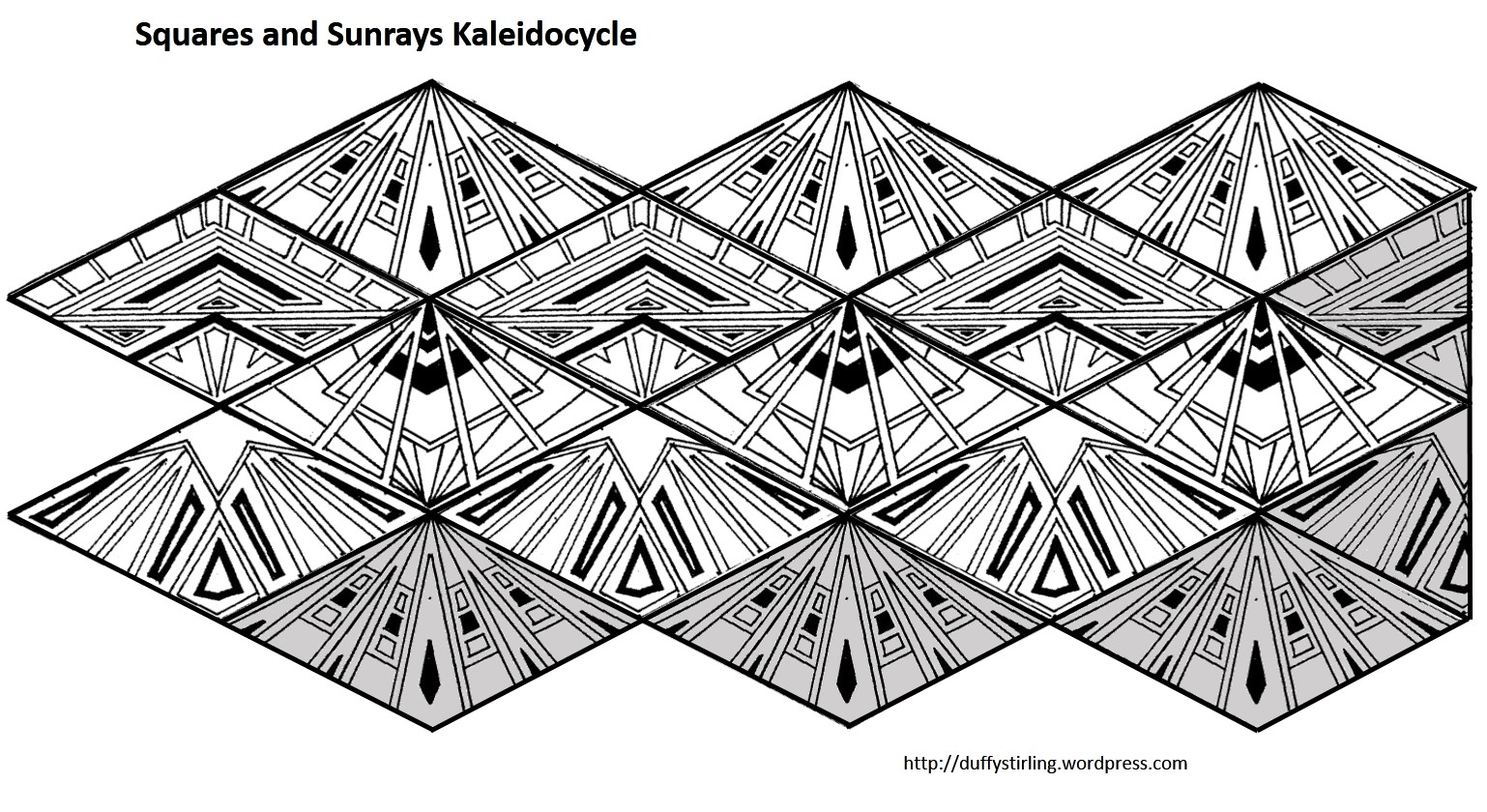 Class Activity Kaleidocycles Duffy Stirling S Teaching Stuff