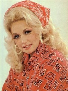 Dolly Parton, 1971. Photo courtesy of RCA
