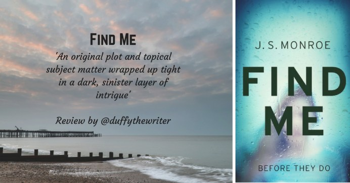 Find Me thriller book review @duffythewriter