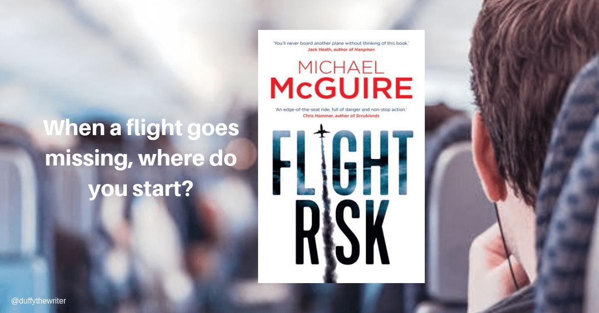 Flight Risk by Michael McGuire - Edge Of Your Seat 5 Star Thriller