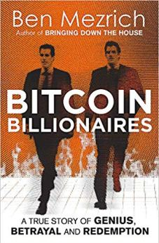 Bitcoin Billionaires by Ben Mezrich. A fawning tale of betrayal and redemption. The story of the Winklevoss Twins as the first Bitcoin Billionaires.