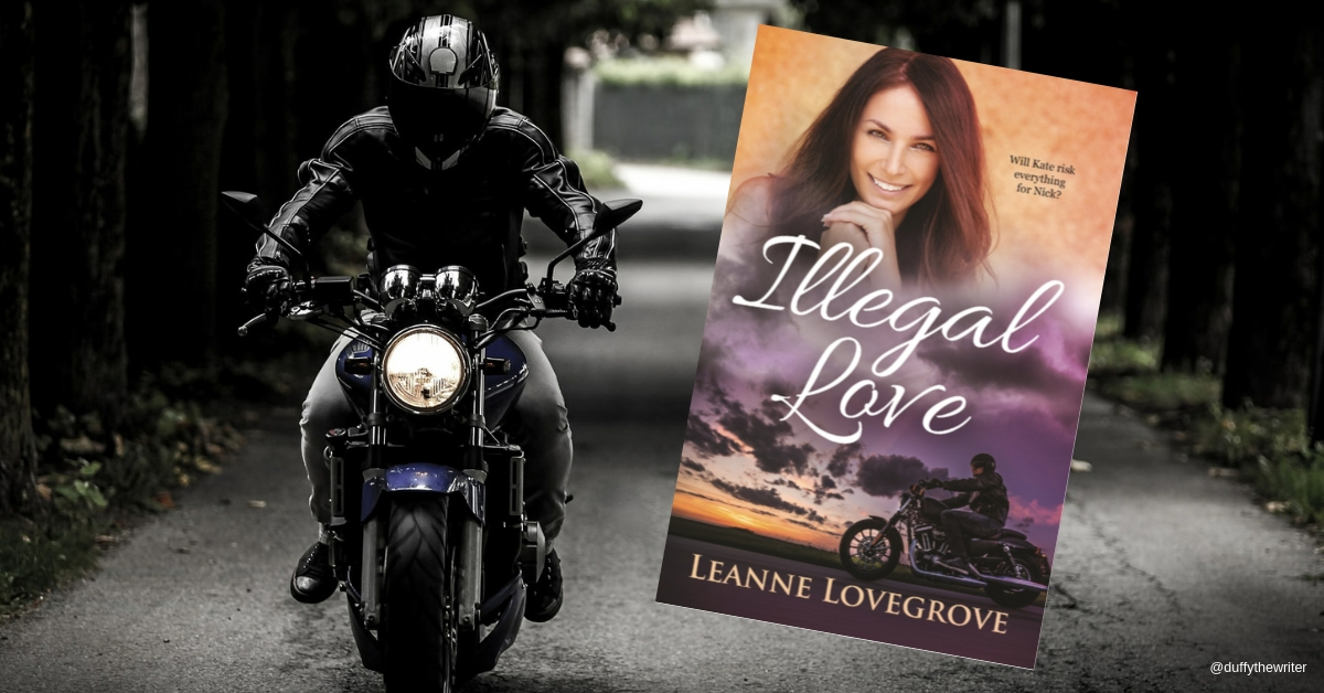 Illegal Love by Leanne Lovegrove. can Loe be found when a bikie gang is lurking in the shadows?