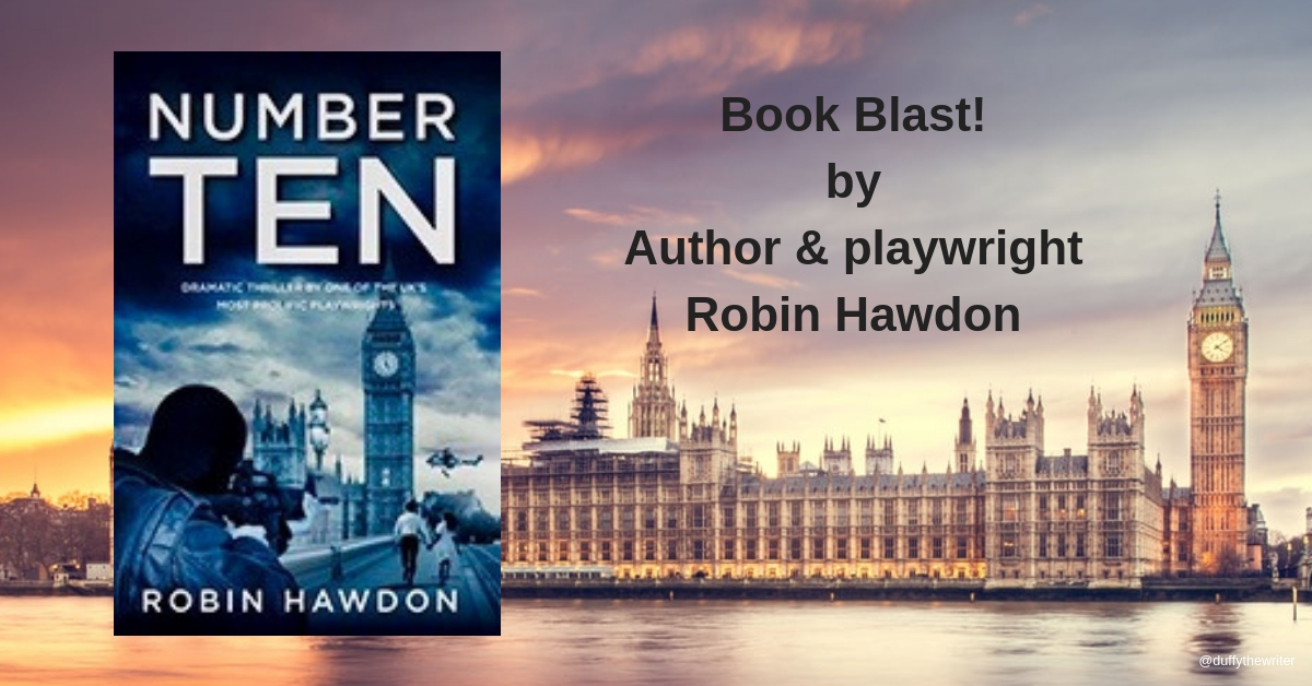 Book Blast! New action packed thriller by author and playwright Robin Hawdon