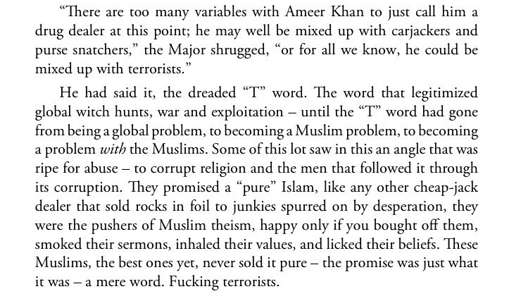 Excerpt from Vapour Trails by Abdul Qadir