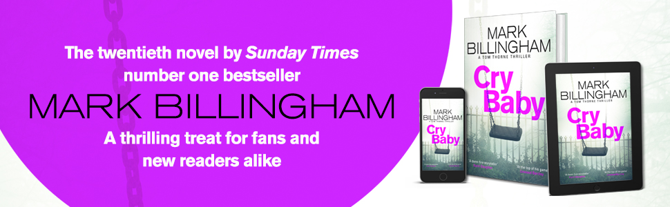 cry baby by Mark Billingham book review duffythewriter