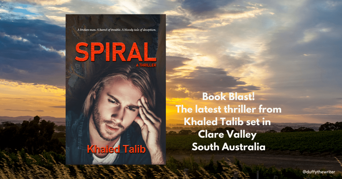 Spiral the latest thriller from Khaled Talib.  Follow Duffythewriter for latest book news