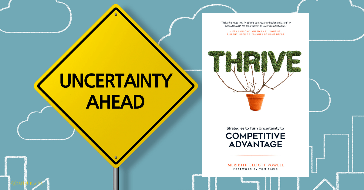 Thrive business book surviving uncertainty and COVID-19