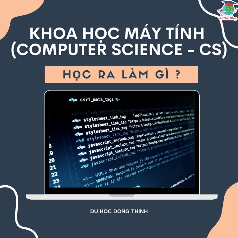 KHOA HỌC MÁY TÍNH (COMPUTER SCIENCE – CS) – HỌC RA LÀM GÌ ?