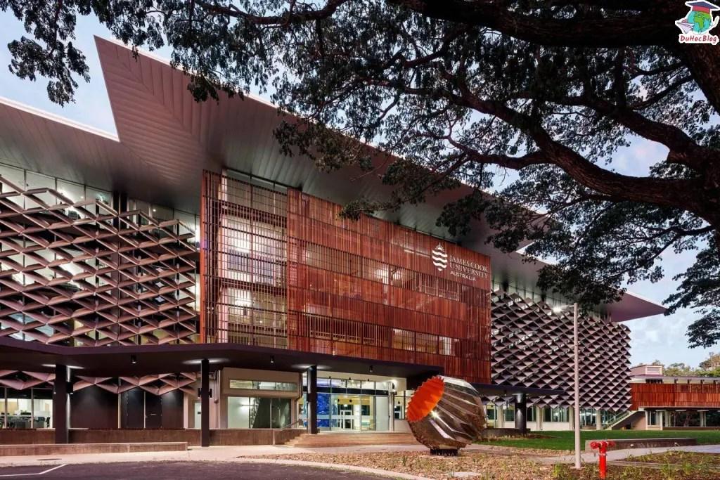 Học bổng Úc - james Cook  Uni
