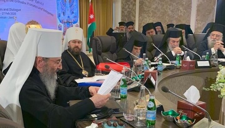 Amman meeting resembles Russian air Force, church's actions in Syria