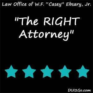 the RIGHT attorney ... no one else … service, effectiveness and professionalism ... Thank you Casey.