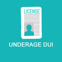 There is zero tolerance for underage drivers.