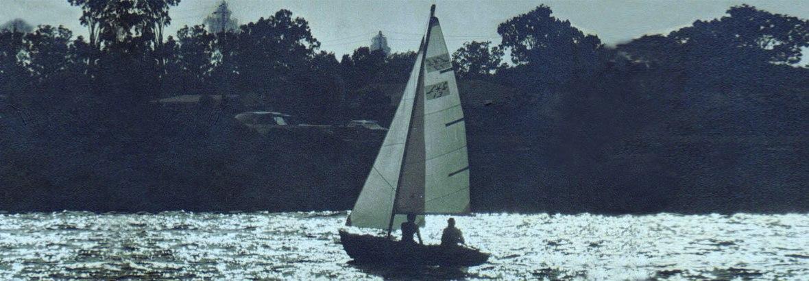 William F. Ebsary, Jr Sailing near Davis Island