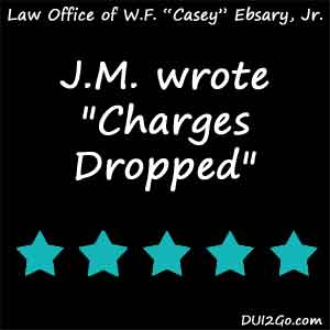 Had I not found Casey and his team, I would have been extradited from Tennessee to Florida on a 25-year-old warrant. Casey and his team got my charges dropped and the warrant canceled. They were compassionate, diligent in their work, and did their homework in my case. If you need an attorney, Casey is AAA+++.