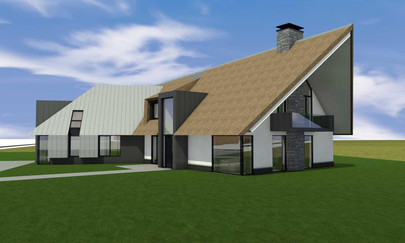 Blauwe Stad Winschoten, Groningen Villa Interieurontwerp DUIN INTERIOR