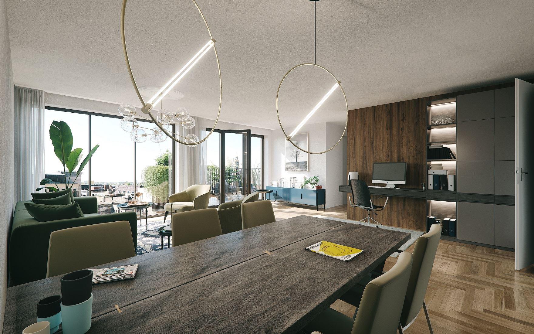 Mercado Groningen interieur impressie luxe appartement