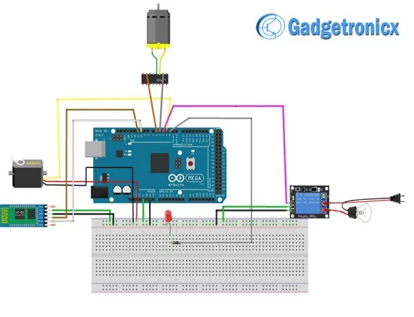 Voice Controlled Home Automation Using Arduino -Use
