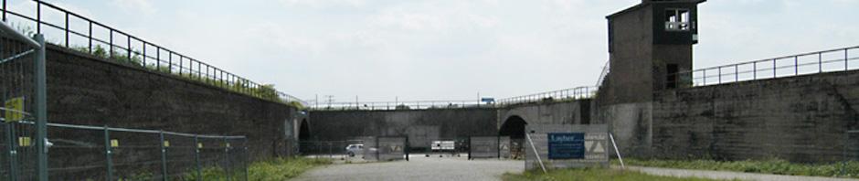 Alter Güterbahnhof, unteres Ende der Rampe zur Karl-Lehr-Straße, Foto: Petra Grünendahl