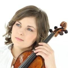 Violinvirtuosin Natalia Demina