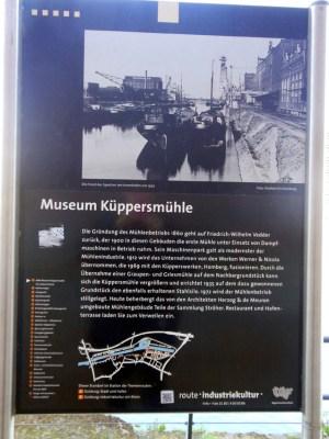 Die Küppersmühle beherbergt heute ein Museum. Foto: Petra Grünendahl.