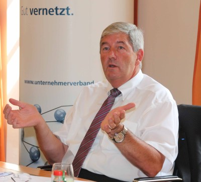 Wolfgang Schmitz, Hauptgeschäftsführer des Unternehmerverbandes Ruhr-Niederrhein. Foto: Matthias Heidmeier / Unternehmerverband.