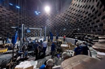 Jetzt ist das Großaggregat Hochofen 2 in Schwelgern an der Reihe: ThyssenKrupp Steel Europe invstiert in Duisburg viel Geld in die Modernisierung seiner Anlagen. Foto: TKSE.