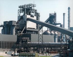 Der Hochofen Schwelgern 2 gehört zu den leistungsfähigsten und größten der Welt. Foto: ThyssenKrupp Steel Europe.