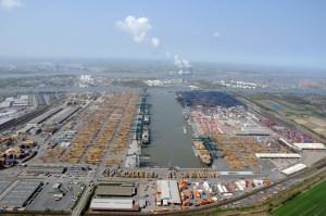 Das Delwaidedok im Antwerpener Hafen. Foto: Port of Antwerp.