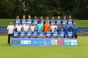 """Die """"U17""""-Mannschaft des MSV Duisburg. Foto: MSV."""