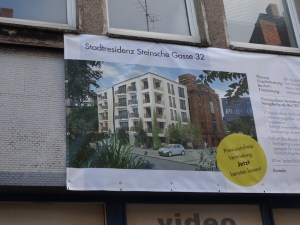 Duisburgs Sorgenkind; Chancen zur Wiederbelebung der Altstadt. Foto: Petra Grünenedahl.