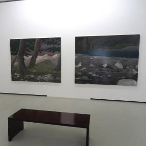 Shin Hanga - japanische Landschaften von Sven Drühl im Museum DKM. Foto: Petra Grünendahl.