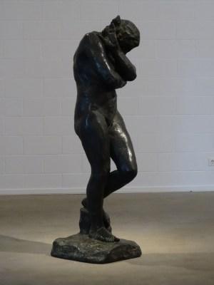 """On Surface - An der Oberfläche: August Rodins """"Eva"""" (1881). Foto: Petra Grünendahl."""