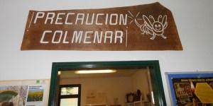 """""""Vorsicht, Bienenhaus"""": Das Bienenmuseum in Rumeln-Kaldenhausen (Duisburg). Foto: Petra Grünendahl."""