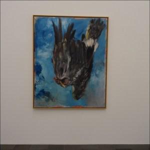Verfremdet rumgedreht: Georg Baselitz' Fingermalerei III (1972). Foto: Petra Grünendahl.