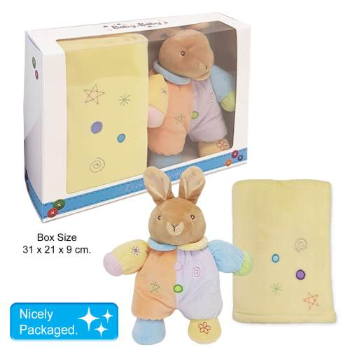 Baby Soft Toy and Blanket