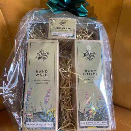 The Handmade Soap Company Hand Gift Set