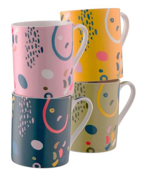 Verdant Set of 4 Mugs by Aynsley